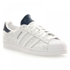 Adidas Originals Adidas Originals Men\u0027s Superstar Camo Trainers  (White/Navy) - Adidas Originals