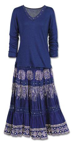 Durango Broom Skirt