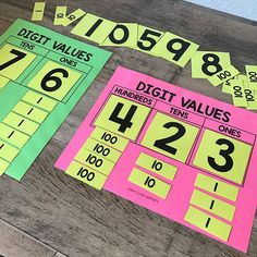 Did you get your free place value resources today?  If not, come join me on FB live tonight to find out how you can grab these goodies!