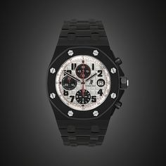 BLACK-OUT AUDEMARS PIGUET ROYAL OAK OFFSHORE PANDA by PROJECT X