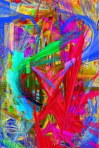 Digital Art - Abstract 9028 by Rafael Salazar