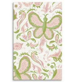 Butterfly Paisley Rug