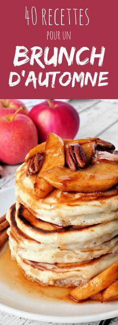 Pancakes, brioche, cinnamon rolls : 40 recettes pour un délicieux brunch d'automne !