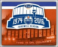 Rexall Place (originally Northlands Coliseum and subsequently Edmonton Coliseum and Skyreach Centre) is commemorating the Oilers last year at Rexall Place. Edmonton Oilers, Nhl, Hockey, Centre, Spaces, Health, Life, Food, Salud