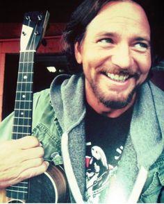 Eddie Vedder... forever a Pearl Jam fan