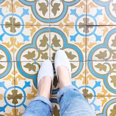 // beautiful tiles at La Cubana in Toronto Toronto, Tiles, Ivory, Instagram Posts, Beautiful, Room Tiles, Tile, Backsplash