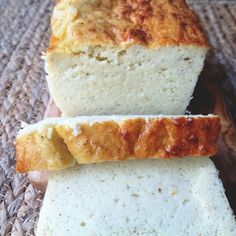 Vanilla Protein Pound cake Ingredients ½ cup steamed cauliflower ½ cup egg whites (I used organic egg whites from Trader Joe's) 2 eggs 1 cup vanilla Protein powder. ( I used About Time Vanilla protein) 4 drops stevia 1 tsp Vanilla bean extract pinch of salt pinch of cinnamon