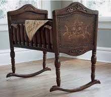 antique cradles - Google Search