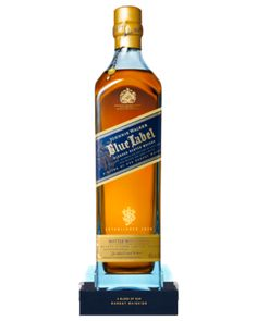 Johnnie Walker Blue Label is the pinnacle of the Johnnie Walker Whisky stable. Created to reflect the the style of whiskies of the early 19th century, it is created using the rarest casks in House of Walker, the largest in the world. The casks are hand selected and set aside for their exceptional quality, character and flavour while retaining the signature smokiness of Johnnie Walker whiskies.