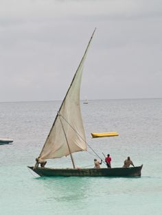 Boats of Dar-es-Salaam and Zanzibar