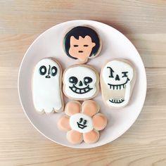 Undertale Halloween Cookies