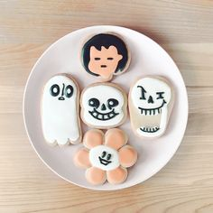 Undertale Halloween Cookies