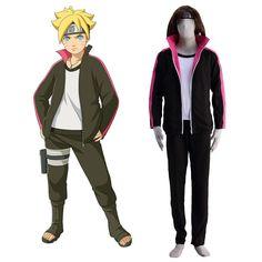 Naruto Uzumaki Boruto 1ST Cosplay Costumes Deluxe Edition