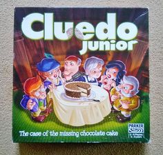 Junior Cluedo - The Case of the Missing Chocolate Cake by Parker