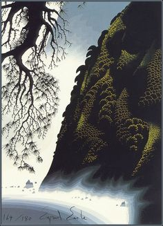 Eyvind Earle, American artist.  || Inspirational Artists || Virginia Gunter