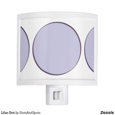 Lilac Dot Night Light
