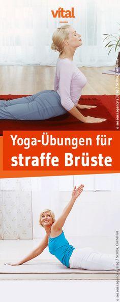 Wer wünscht sich nicht wunderschöne und vor allem straffe Brüste, die der Schwerkraft trotzen? Unsere Yoga-Übungen verhelfen euch zu straffen Brüsten!