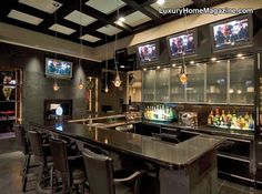 Now that's a home bar!