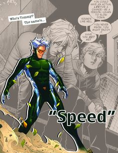 Who's Tommy? The Name's SPEED.