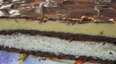 Kokosovo-čokoládové pokušenie na plechu: Nie je to o nič náročnejšie, ako nepečené dezerty, výsledok je však neporovnateľný!