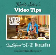 Treat yourself to this delicious Mexican Flan! | Southern Fried Fitness #Recipe