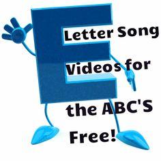 Letter Song Videos | Free Letter Learning Videos | Readyteacher.com