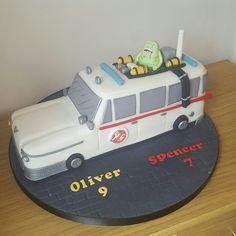 Ghostbuster car cake