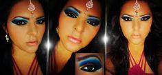 Resultado de imagen para maquillaje hindú Halloween Face Makeup