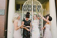 Glam Garden Party Wedding: Emily + Ed – Part 1