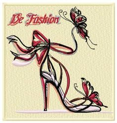 Be fashion machine embroidery design: