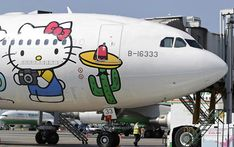 Hello Kitty Airlines is ready to take off