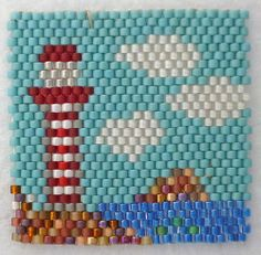 light house inch - Square by Julia Pinkocze (5 of 5) - Bead&Button Magazine Community - Forums, Blogs, and Photo Galleries