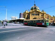 Melbourne, Flinder's Station for Trams.
