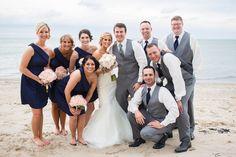 Navy & Pink Ohio Lakeshore Wedding|Caitlin & Brett | Wedding Colors