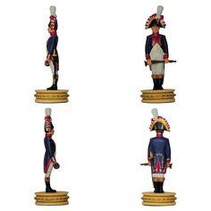 Músico de los Granaderos a pie de la Guardia (Colección de Ajedrez de Altaya - Batalla de Jena)