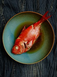 RP »  Red Bream in Soy Sauce 金目鯛の煮付け