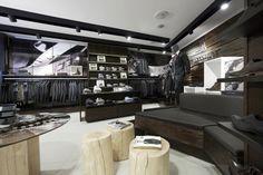#Fashionshop in #Oslo #Norway #Riccovero™. #Retail by #ScenariointeriørarkitekterMNIL #Scenariointark #Interiørarkitekt #Oslo #Butikkinnredning #Wood #treverk    www.scenario.no    Photos by #Gatis #Rozenfelds www.f64.lv