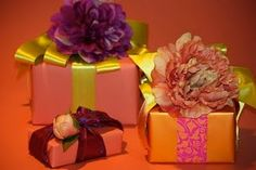 Read: Part 4: How to Make Flowers for Gift Wrapping   #diyflowers  #giftwrap #flymetothemoonflorists
