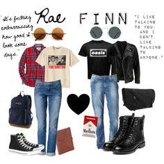 Fashion Inspiration; Rae & Finn - My Mad Fat Diary