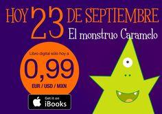 Hoy 23 de Septiembre es un día especial.  El monstruo Caramelo sólo hoy a 0,99.  https://itun.es/es/r5YAcb.l