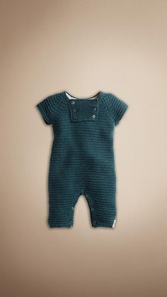 Burberry - BIB DETAIL CASHMERE PLAYSUIT.......$250 LMBO!!! My baby can dream too.