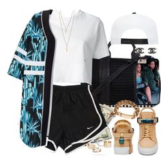 Wavy by oh-aurora on Polyvore featuring polyvore fashion style Dsquared2 BUSCEMI Alexander Wang Givenchy MANGO Chanel