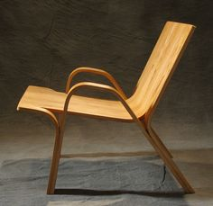 instructable - how to make your own bent plywood Ramified Armchair