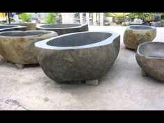 Stone bathtubs - Lux4home™. Hand made in Indonesia.