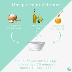 Masque teint éclatant - Beauty is Art Beauty Care, Diy Beauty, Beauty Skin, Beauty Hacks, Chocolate Slim, Best Acne Treatment, How To Apply Lipstick, Homemade Cosmetics, Tips & Tricks