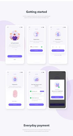 Finance Mobile App UI UX on Behance The Effective Pictures We Offer You About clean App Design A quality picture can tell you many things. Ios App Design, Mobile Ui Design, Android App Design, Android Ui, Desing App, Menu Mobile, Mobile App Ui, Dashboard Mobile, Mobile Mobile