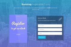 bootstrap registration forms