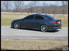 Slammed Acura TSX | Chrome RJ Legends on a CG TSX, Slammed Baby! - AcuraZine Community