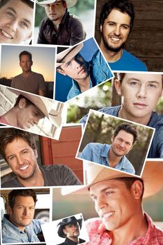 My favorite country male singers!!!