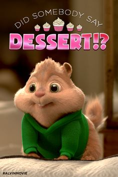 Theodore is Ready for Some Holiday Dessert   Alvin and the Chipmunks: The Road Chip